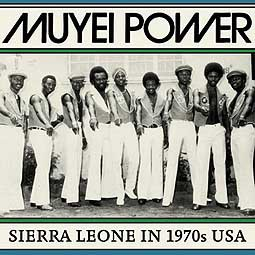 Cover MUYEI POWER, sierra leone in 1970s usa