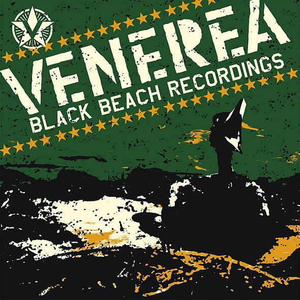 VENEREA, black beach recordings cover