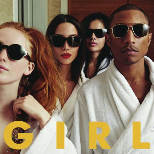 Cover PHARRELL WILLIAMS, g i r l
