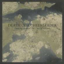 Cover DEATH OF A CHEERLEADER, dancing around the fire of volcano