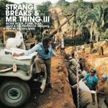 Cover V/A, strange breaks & mr. thing III
