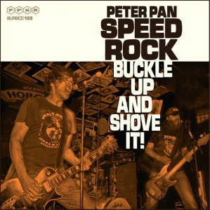 Cover PETER PAN SPEEDROCK, buckle up and shove it