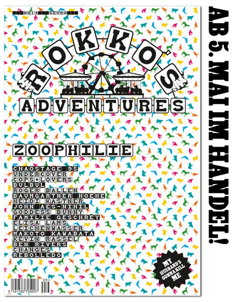 Cover ROKKO´S ADVENTURES, # 14
