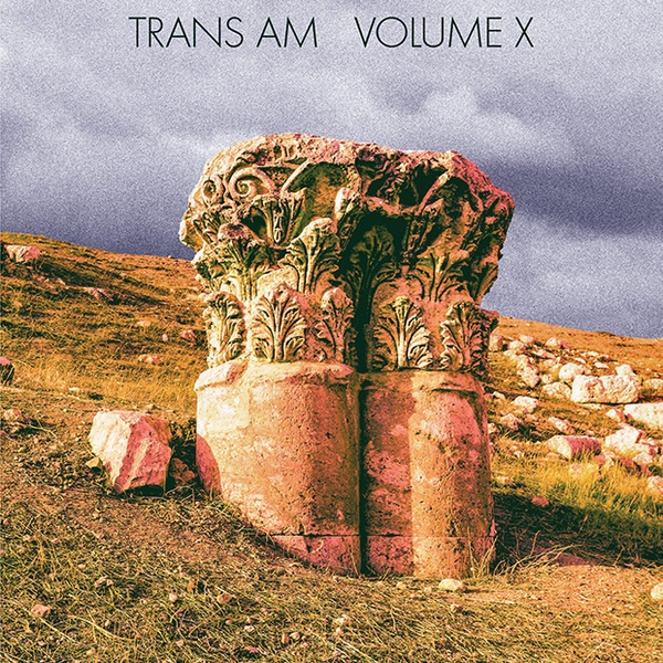 TRANS AM, volume x cover