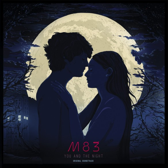 M83, you and the night o.s.t. cover
