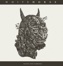 Cover WHITEHORSE, raised into darkness