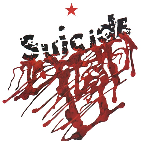 SUICIDE, s/t cover