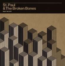 Cover ST. PAUL & THE BROKEN BONES, half the city