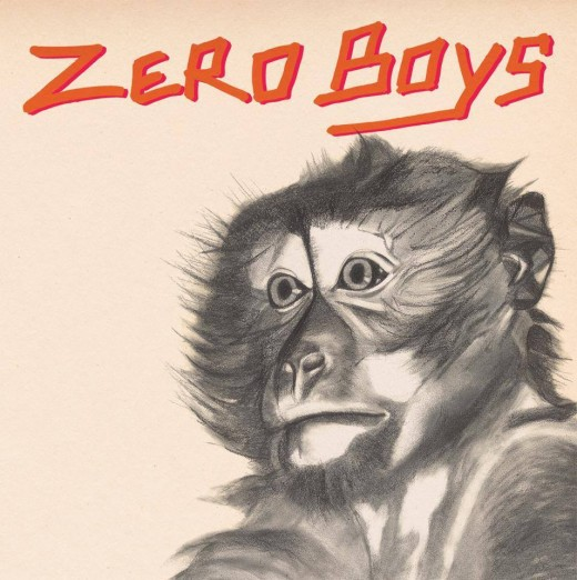 ZERO BOYS, monkey cover