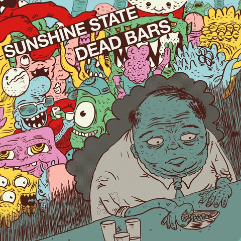 DEAD BARS / SUNSHINE, split cover