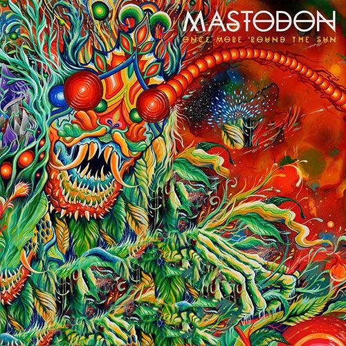 MASTODON, once more ´round the sun cover