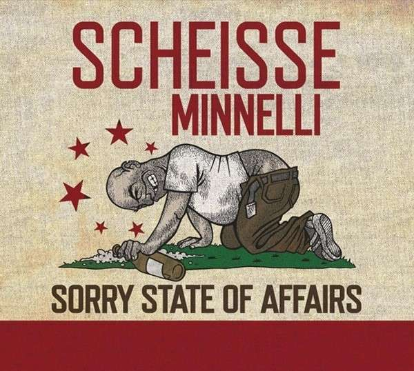 SCHEISSE MINNELLI, sorry state of affairs cover