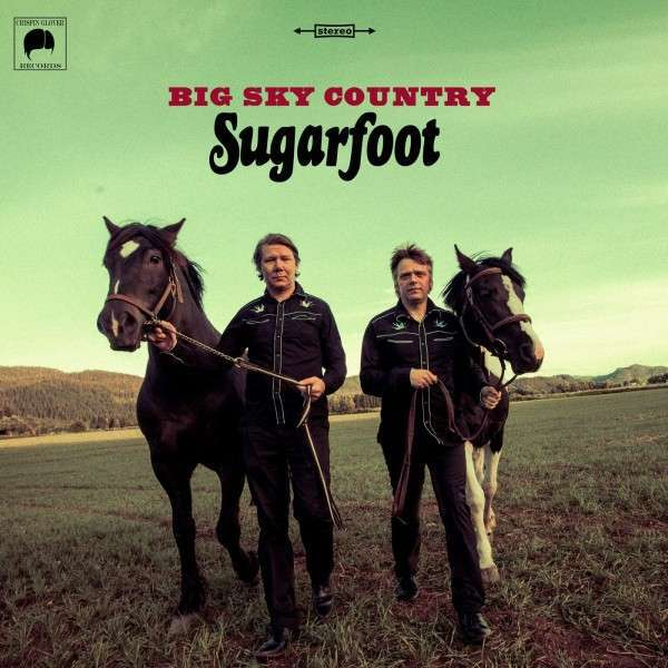 Cover SUGARFOOT, big sky country