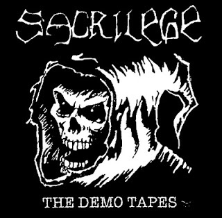 Cover SACRILEGE, it´s time to face the reaper (demos 84-86)