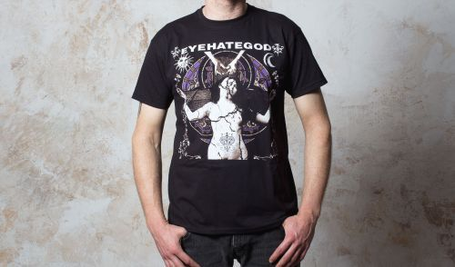 Cover EYEHATEGOD, album cover (boy) black