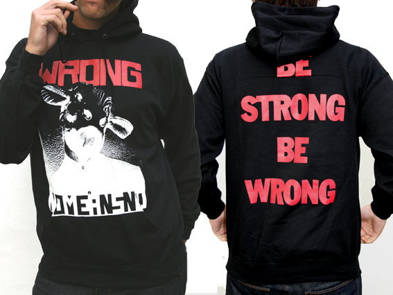 Cover NOMEANSNO, wrong (boy) hoodie black