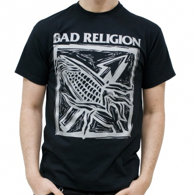 BAD RELIGION, against the grain (boy) black cover