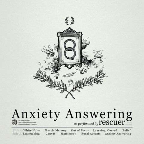 Cover RESCUER, anxiety answering