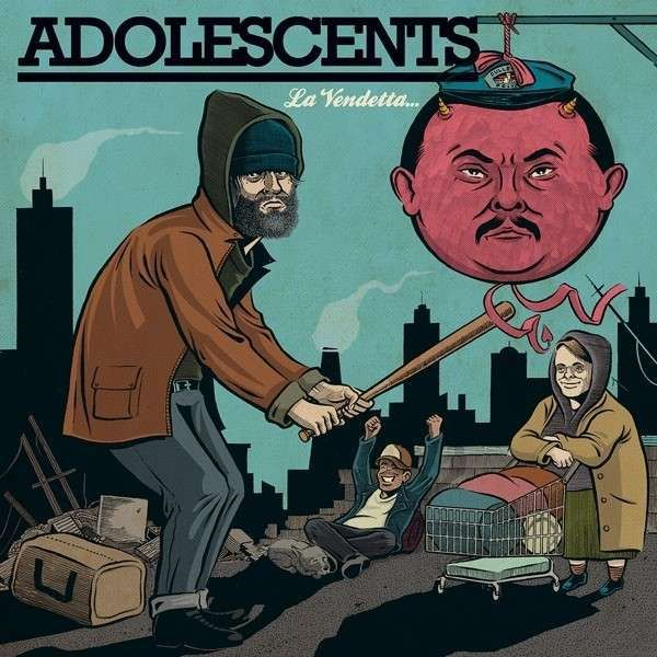 Cover ADOLESCENTS, la vendetta