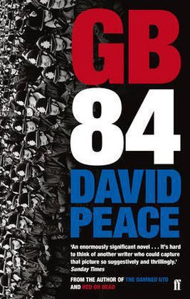 DAVID PEACE, gb84 cover