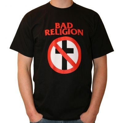 Cover BAD RELIGION, cross buster (boy) black