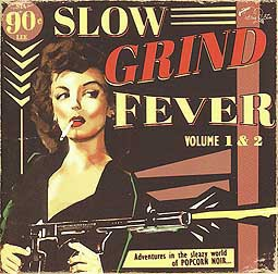 V/A, slow grind fever 1 & 2 cover