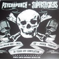 Cover SUPERSUCKERS / PSYCHOPUNCH, split