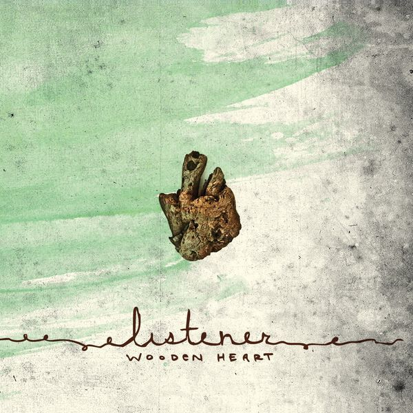 Cover LISTENER, wooden heart