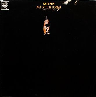 Cover THELONIOUS MONK, misterioso