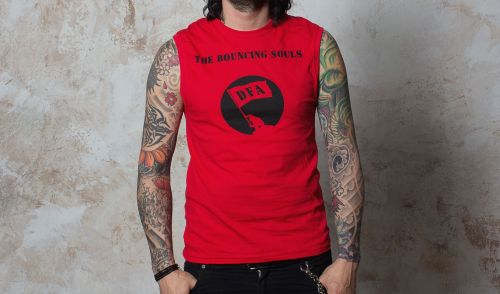 Cover BOUNCING SOULS, dfa (boy) tank red