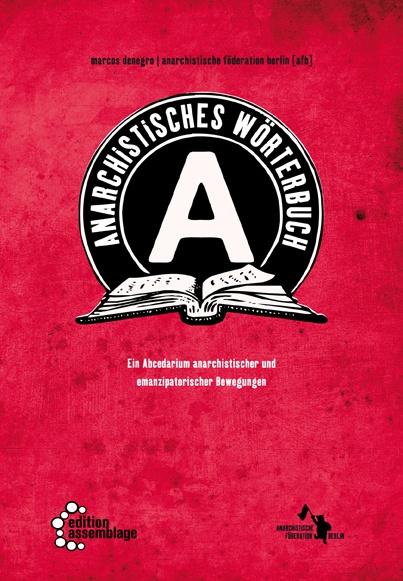 MARCOS DENEGRO, anarchistisches wörterbuch cover