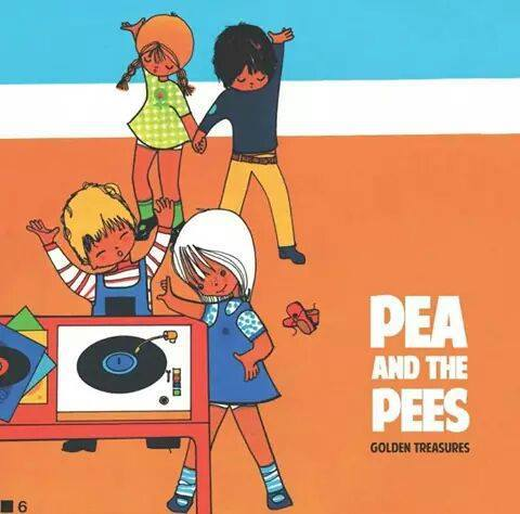 Cover PEA AND THE PEES, golden treasures