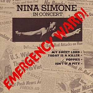 Cover NINA SIMONE, emergency ward