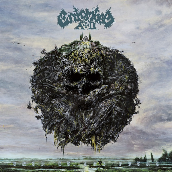 Cover ENTOMBED A.D., back to the front