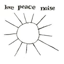 Cover EWA BRAUN, love peace and noise