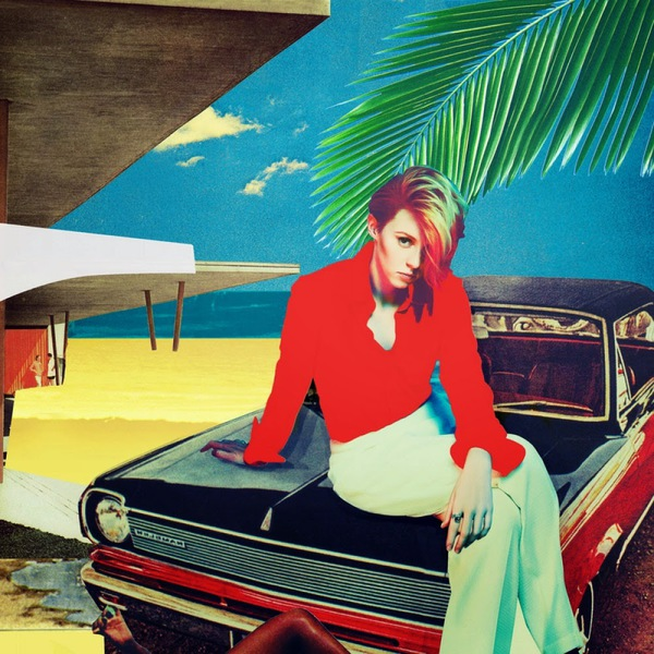LA ROUX, trouble in paradise cover