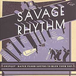 Cover V/A, savage rhythm - swingin´dance floor sound...