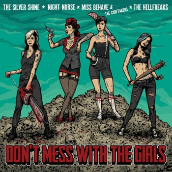 Cover V/A, don´t mess with the girls