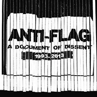 Cover ANTI-FLAG, a document of dissent