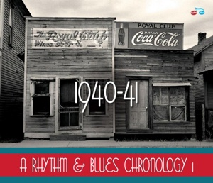 Cover V/A, a rhythm and blues chronology 1: 1940-1941