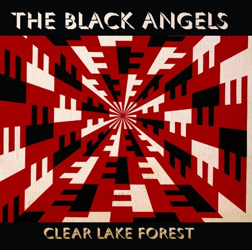 BLACK ANGELS, clear lake forest cover