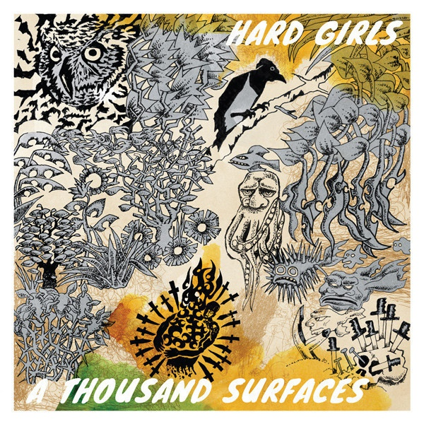 Cover HARD GIRLS, a thousand surfaces