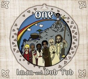IMAN & DUB TUB, one cover