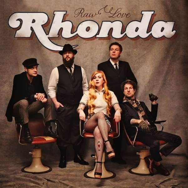 Cover RHONDA, raw love