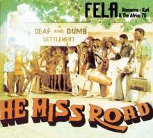 Cover FELA KUTI, he miss road