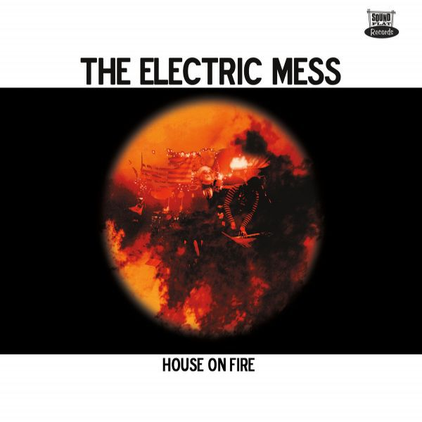Cover ELECTRIC MESS, house on fire