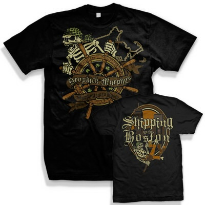 Cover DROPKICK MURPHYS, shipping up to boston (boy) black