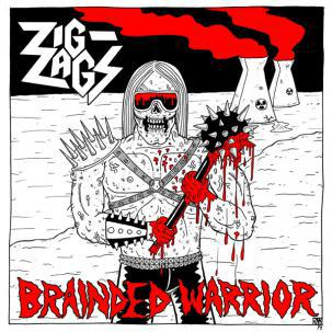Cover ZIG ZAGS, brainded warrior