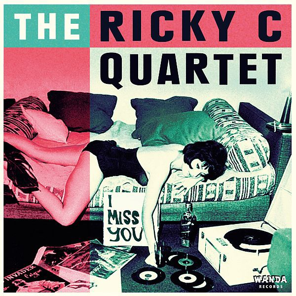 Cover RICKY C QUARTET, i miss you ep