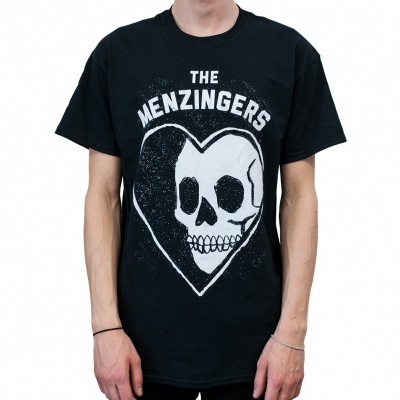 Cover MENZINGERS, skullheart (boy) black